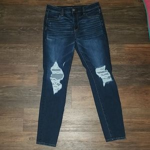 AE 360 NE (x)T Level high rise jegging jeans 10